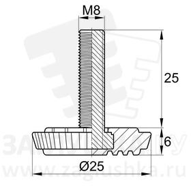25ТшМ8-25ЧН